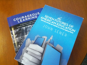 A photo of the first two books mentioned in this blog.