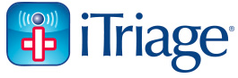 Logo for iTriage, Sean Baxter's company.