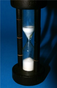 Photo of a sand clock
