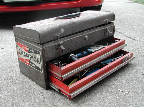 Image of a toolbox