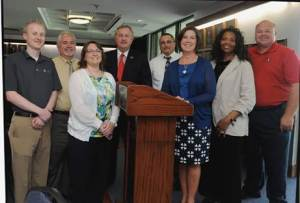 photo of our bloggers and other leaders from Walters State Community College