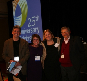 David Lassner, Mollie McGill, Ellen Wagner and Richard Jonsen