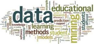 mix of words related to educational data