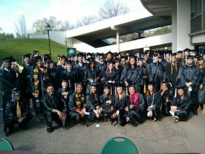 Photo of Ohio University graduates.