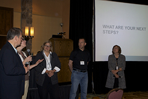 Next steps discussion led by SMEs Vernon Smith, Lisa Foss, Ellen Wagner, Mike Sharkey and Linda Baer.