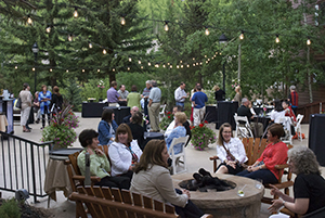 Networking begins at WCET Boot Camp in beautiful Vail, CO.