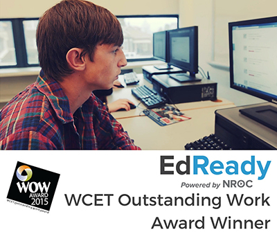 EdReady image of student WOW logo