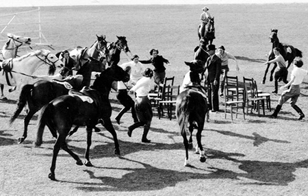 musicalchairs with horses from StateLib_South Australia