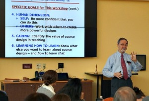Dr. L. Dee Fink at the University of Denver