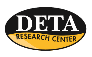 "DETA Logo reads ""DETA Research Center"""
