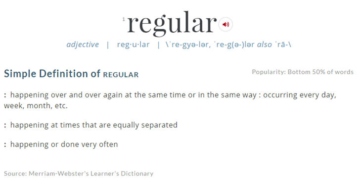 Interpreting What Is Required For Regular And Substantive