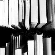 photo of several hardcover books