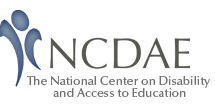 Logo for the National Center on Disability and Access to Education