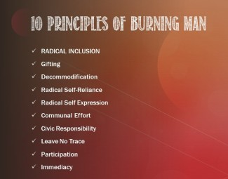 10 principles of burning man