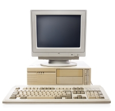 Early computer photo