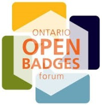 Logo for the Ontario Open Badges Forum.