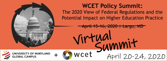 dates and info on the virtual policy summit, april 20-24,