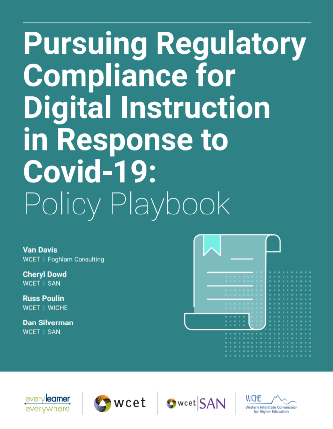 Cover of the Policy Playbook - with title and authors.